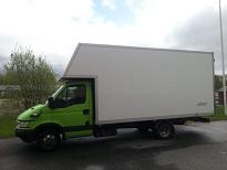 Lastbil, företagsflytt, kontorsflytt i Göteborg