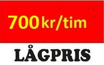 Flyttfirma Floda 700 kr/tim